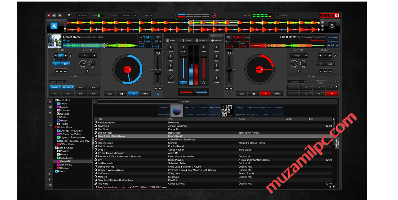 Virtual DJ Pro 2022 Crack With Serial Key Free Download [Latest]