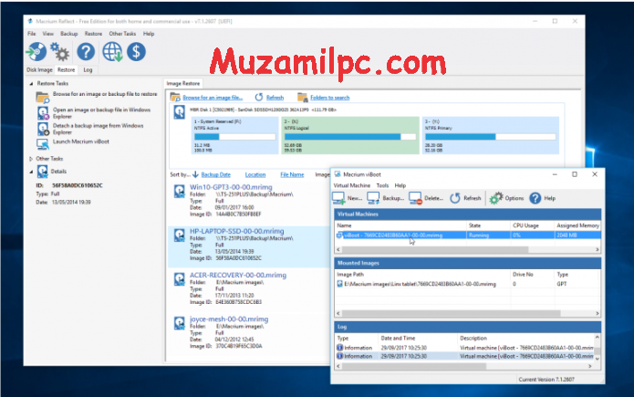 Macrium Reflect 8.0.6036 Crack + License Key Free Download [2022]